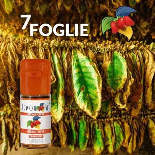 7 farklı Tütün Aroması 7 foglie ultimate flavour art