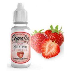 Çilek Aroması Capella Sweet Strawberry Aroma