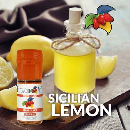 Limon Aroması Sicilya lemon sicily flavour art