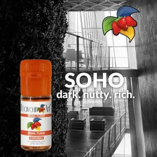 Hafif Tütün Aroması soho flavour art