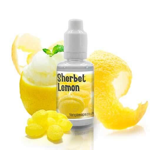 vampire vape aroma sherbet lemon