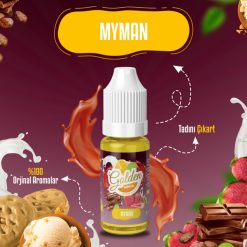 Sütlü Dondurmalı Myman aroma